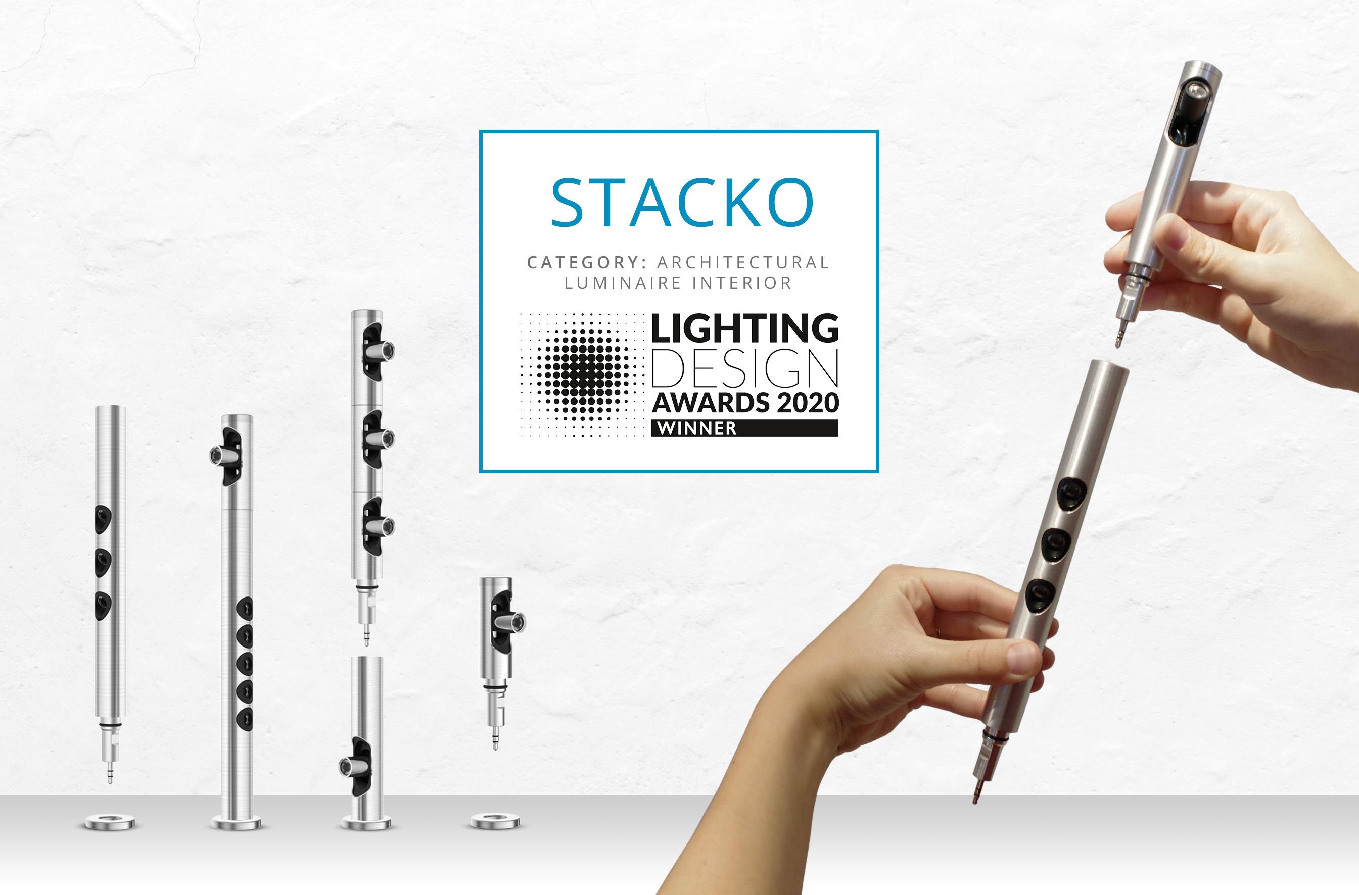 Stacko wins a Lighting Design Award!