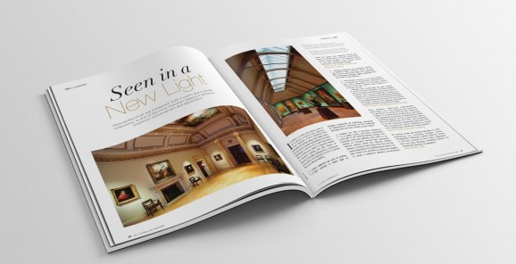 Arts and Collections International interview Precision Lighting